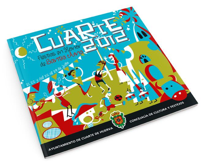 Programa de Fiestas de Cuarte de Huerva | Izquierdo & Chueca Diseño ...